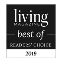 Winner Living Magazine Best of Readers' Choice 2019